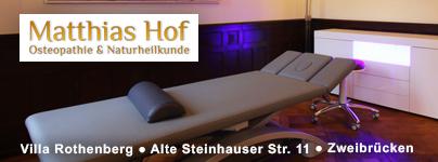 Graphomedia Kunde: Osteopathie Matthias Hof